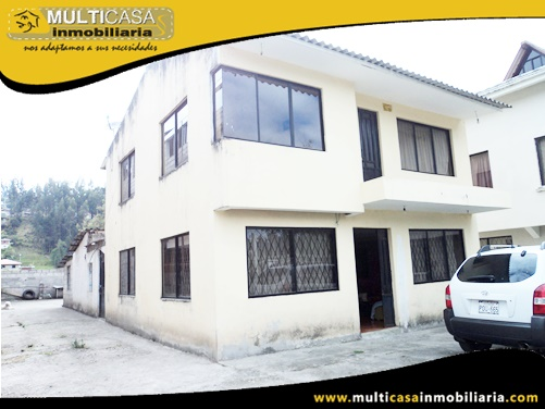 Casa en Venta a Crédito con Terreno Sector Ochoa León Cuenca-Ecuador