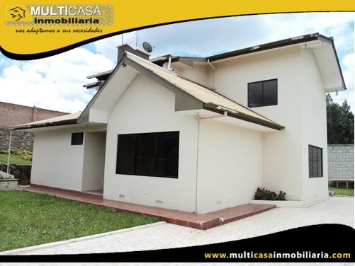 Casa en Venta a Crédito Sector Misicata Cuenca-Ecuador