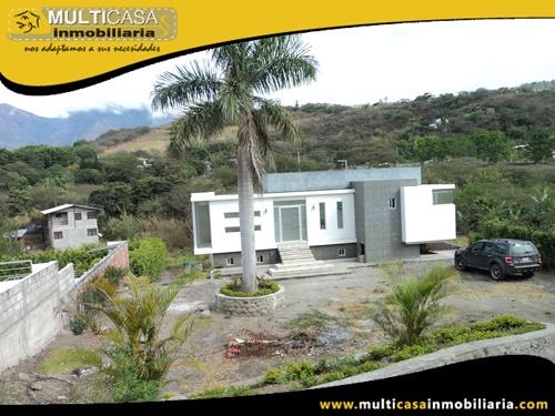 Quinta en Venta a Crédito en Urbanización Privada Sector Yunguilla-Ecuador