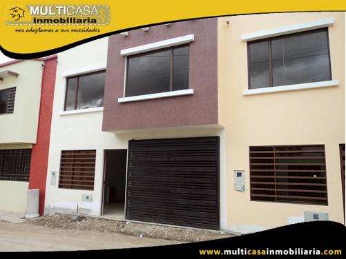 Casas en Venta a Crédito Sector Control Sur Cuenca-Ecuador