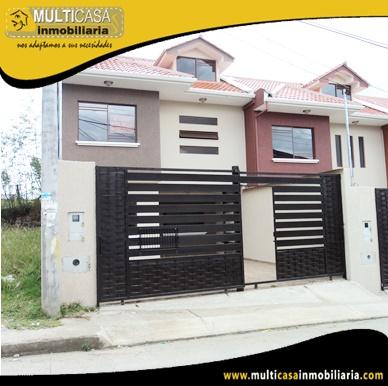 Casas en Venta a Crédito Sector Racar Cuenca-Ecuador