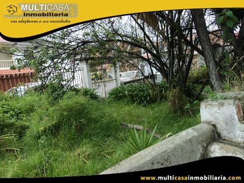Terreno en Venta a Crédito Sector Don Bosco Cuenca-Ecuador