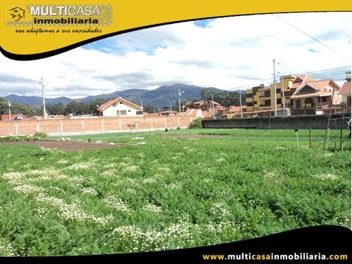 Terreno en Venta a Crédito Sector Feria Libre Cuenca-Ecuador
