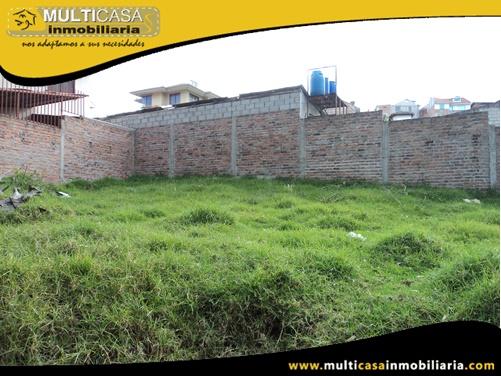 Terreno en Venta a Crédito con Licencia Urbanística Sector Colegio Borja Cuenca-Ecuador