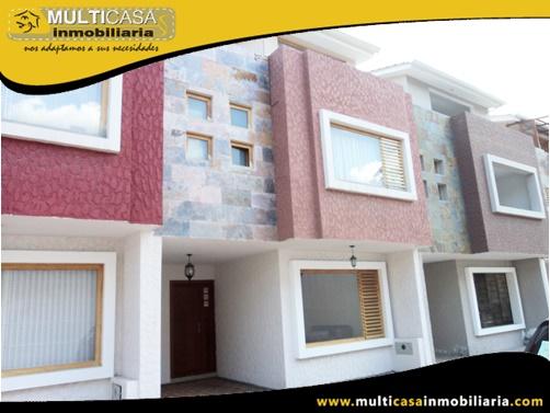 Casa en Venta a Crédito en Condominio Privado Sector Ciudadela de Los Ingenieros Cuenca-Ecuador