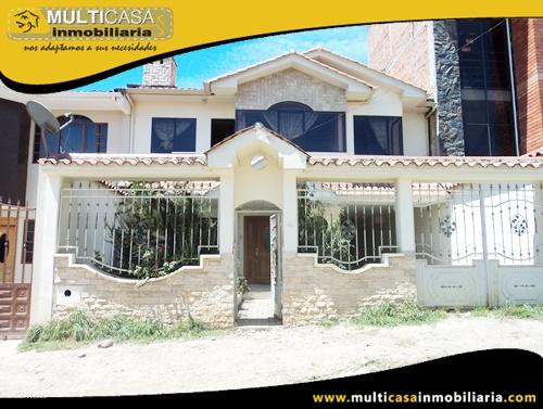 Casa en Venta a Crédito Sector Sayausí Cuenca-Ecuador