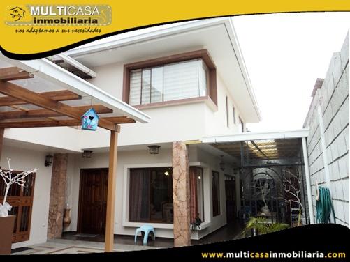 Casa en Venta a Crédito Sector Capulispamba Cuenca-Ecuador