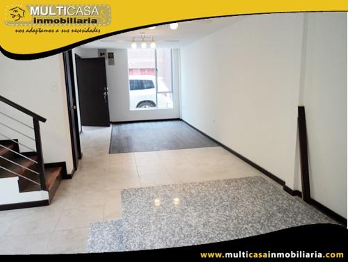 Casa en Venta a Crédito en Condominio Privado Sector Av. Abelardo J. Andrade  Cuenca-Ecuador