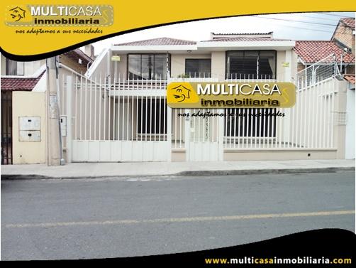 Casa en Venta a Crédito Sector Av. 10 de Agosto Cuenca-Ecuador