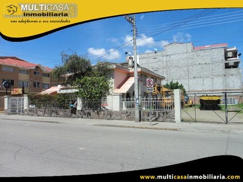 Casa en Venta a Crédito con Dos Departamentos Sector Totoracocha Cuenca-Ecuador