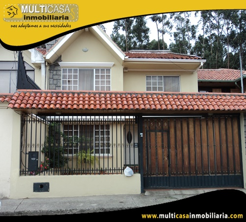 Casa en Venta a Crédito Sector Ave. 10 de Agosto Cuenca-Ecuador