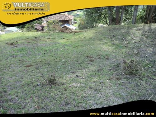Terreno en Venta a Crédito Sector Llacao Cuenca-Ecuador