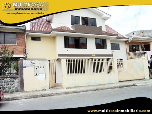 Casa en Venta a Crédito de Tres Departamentos con Local Comercial  Sector Totoracocha Cuenca - Ecuador