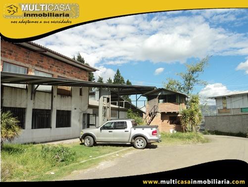 Nave Industrial en Venta a Crédito Sector Parque Industrial Cuenca - Ecuador