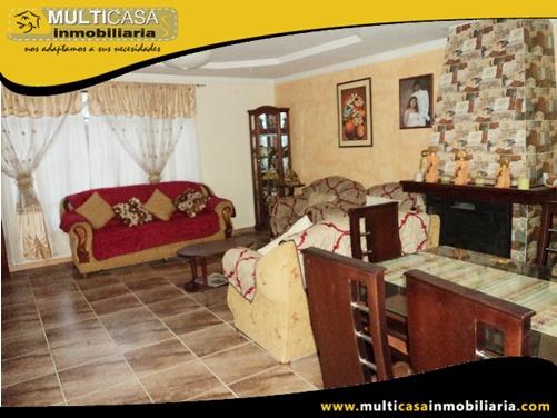 Casa en Venta a Crédito de Siete Departamentos Sector Av. 10 de Agosto Cuenca-Ecuador