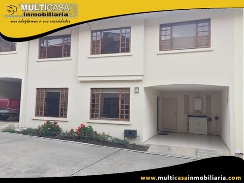 Casa en Venta a Crédito en Urbanización Privada Sector Emov - Entrada a Misicata Cuenca-Ecuador