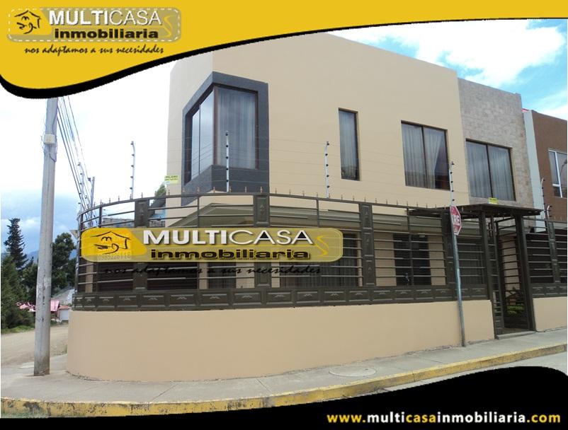 Casa en Venta a Crédito Sector Quinta Chica Baja Cuenca - Ecuador