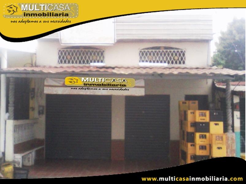 Casa Comercial en Venta a Crédito con Local Comercial y local para eventos Sector Puerto Inca-Guayaquil Ecuador