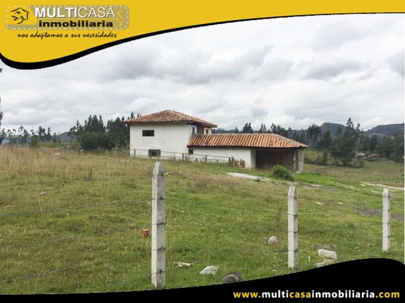 Lote en venta a Crédito con Casa Sector Deleg-Ecuador