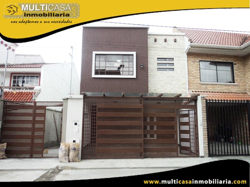 Casa en Venta a Crédito Sector Medio Ejido Cuenca-Ecuador