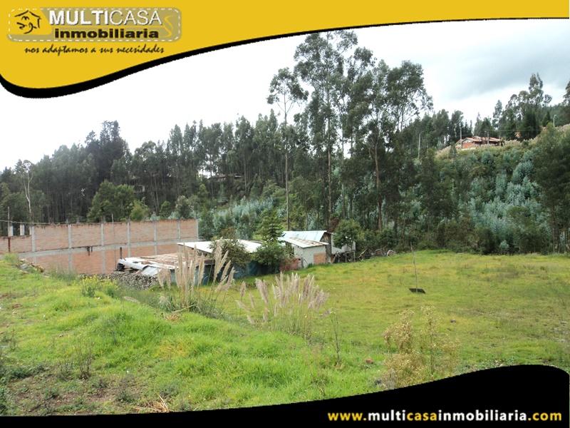 Terreno en Venta a Crédito Con Línea de Fabrica Sector Sayausí Cuenca-Ecuador