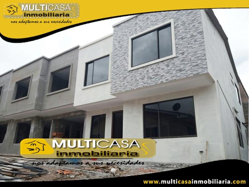 Casas en Venta a Crédito Sector La Católica Cuenca-Ecuador