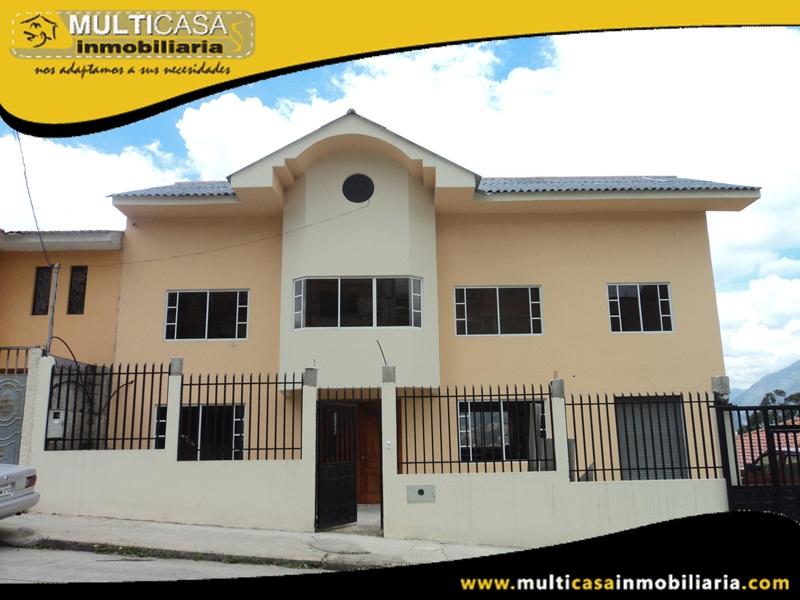 Casa en Venta con Local Comercial por terminar Sector Ordoñez Lasso