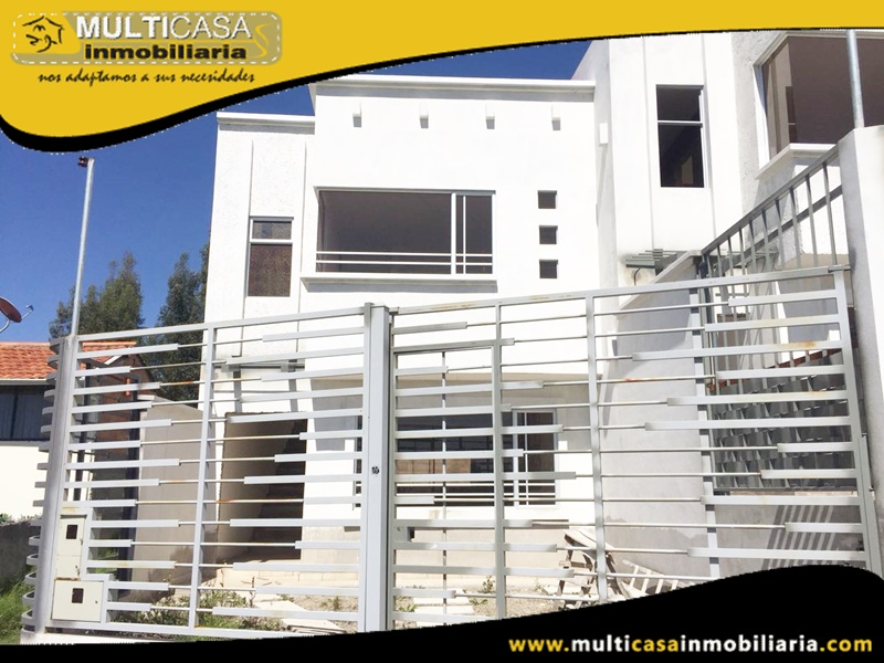 Casa en venta a Crédito Sector Camino Viejo a Baños Cuenca-Ecuador