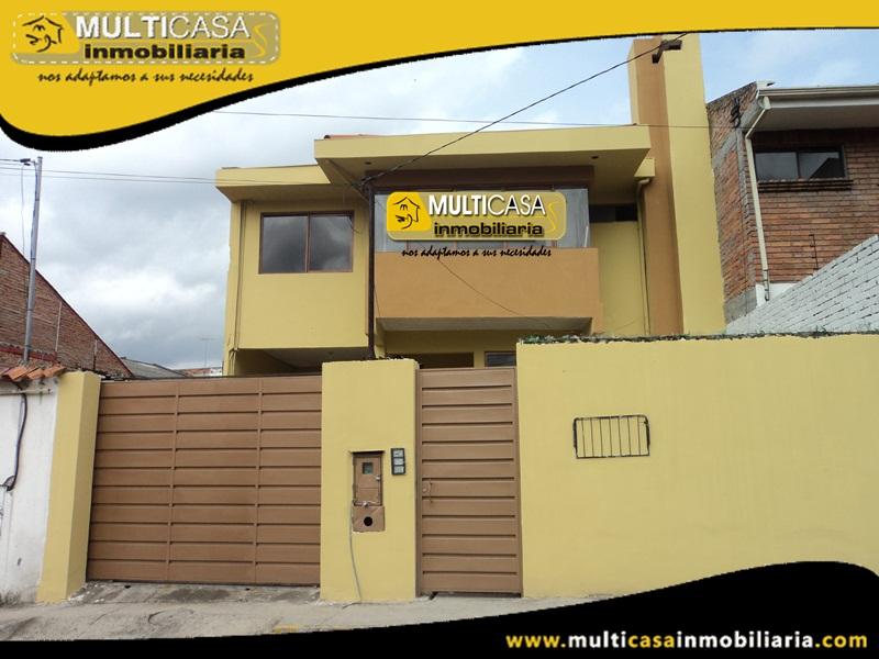 Casa de Arriendo Sector Av. 12 de Octubre. Cuenca-Ecuador