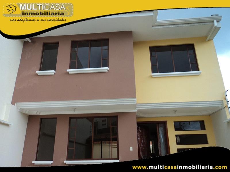 Casa en Venta a Crédito Sector Colegio Borja Cuenca - Ecuador