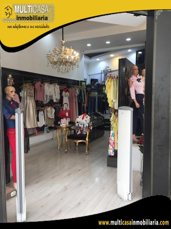 Negocio en Venta Sector Mall de Rio Cuenca-Ecuador