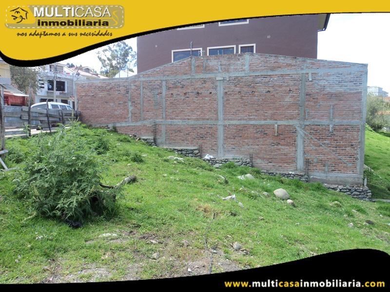 Terreno en Venta a Crédito con Licencia Urbanística Sector los Cerezos Cuenca - Ecuador