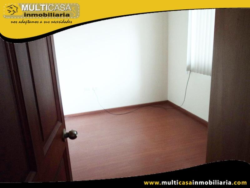 Departamento en Venta a Crédito en Condominio Privado Sector Misicata Cuenca-Ecuador