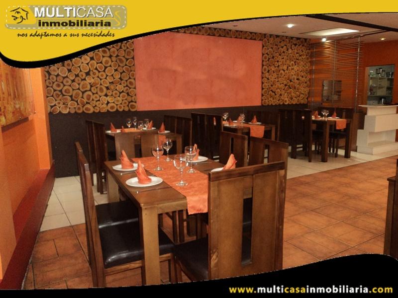 Restaurante-Pizzeria en Venta Sector Remigio Crespo Cuenca-Ecuador