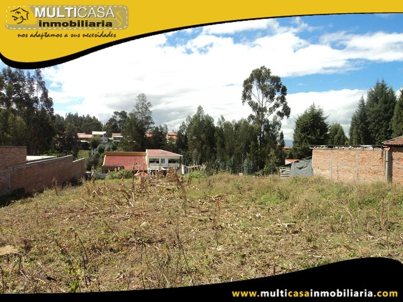Terreno en Venta a Crédito Sector Río Amarillo Cuenca-Ecuador