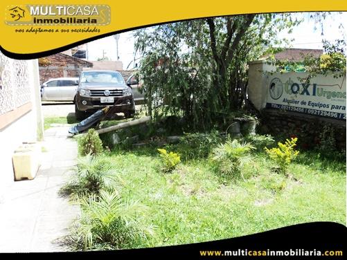 Terreno Comercial en Venta a Crédito Sector Totoracocha Cuenca-Ecuador