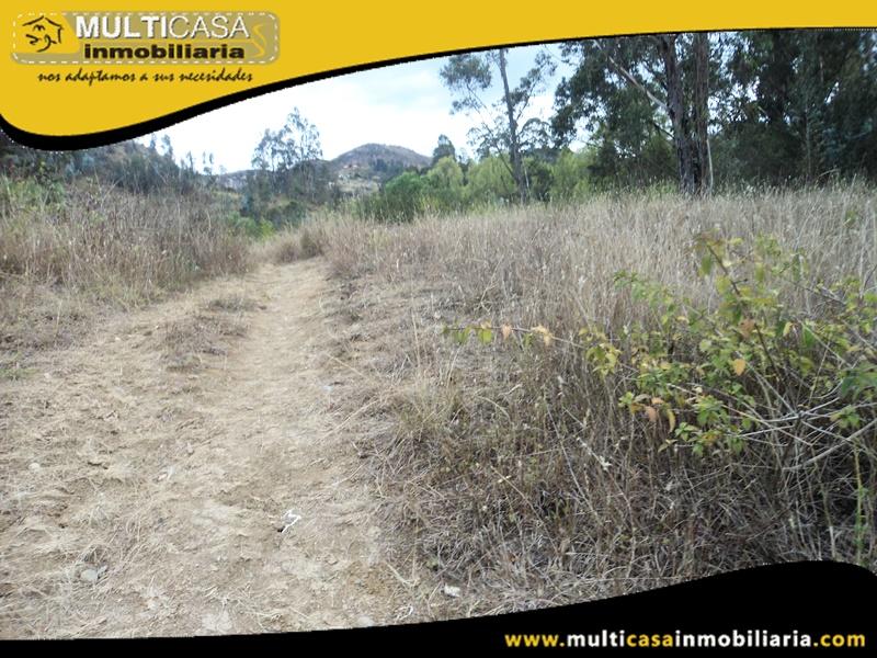 Terreno en Venta a Crédito Sector Challuabamba Cuenca- Ecuador