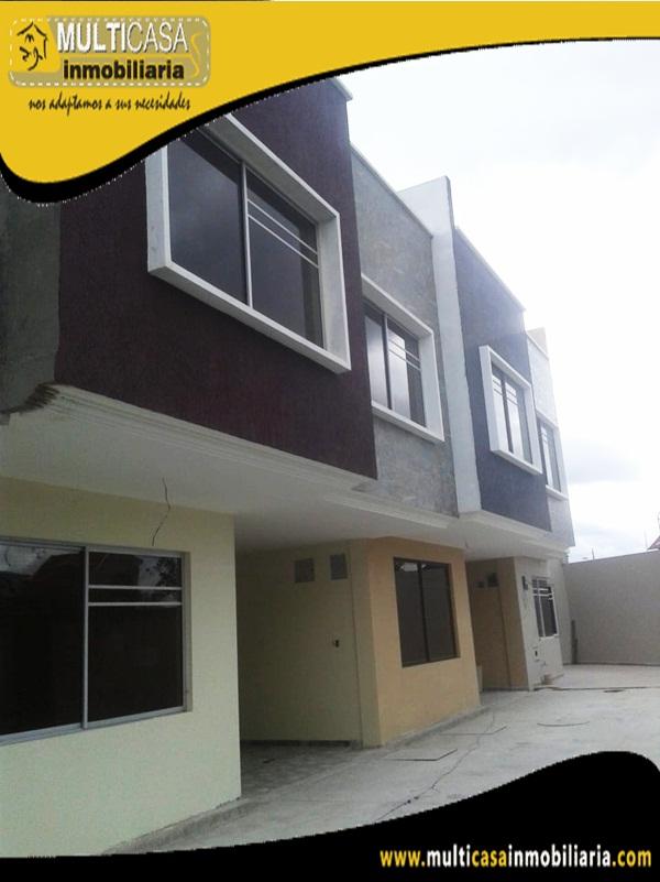 Casas en Venta a Crédito en Condominio Privado Sector Colegio Borja Cuenca-Ecuador