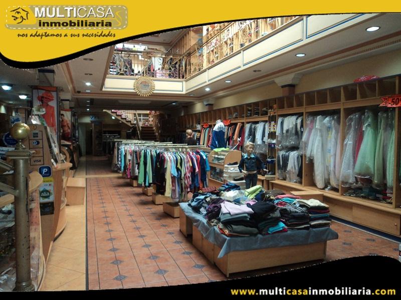 Boutique en Venta Sector Centro Histórico Cuenca-Ecuador