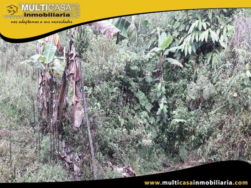 Terreno en Venta a Crédito Sector El Panecillo Morona Santiago Oriente - Ecuador