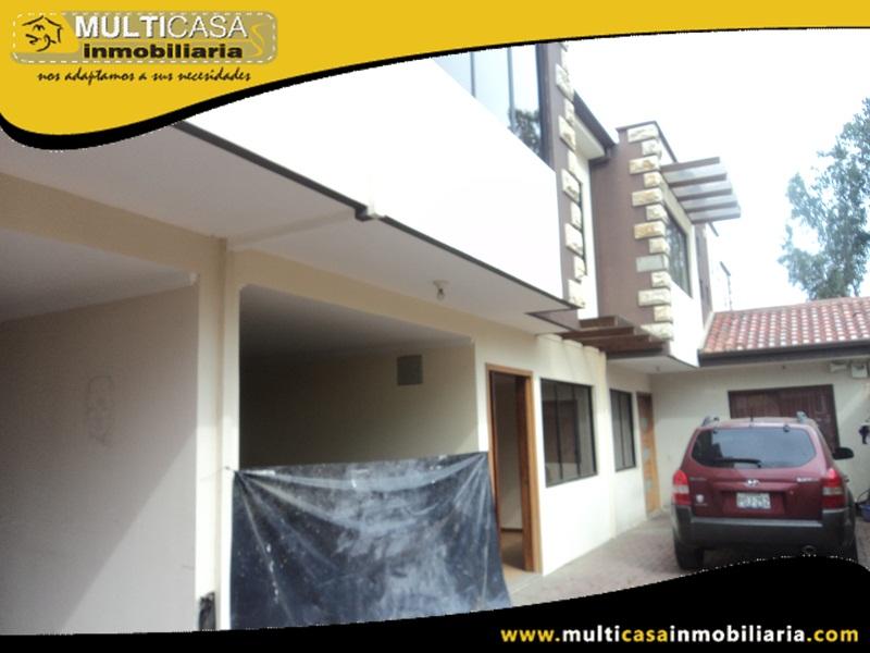 Casa en Venta a Crédito en Condominio Privado Sector El Cebollar Cuenca - Ecuador