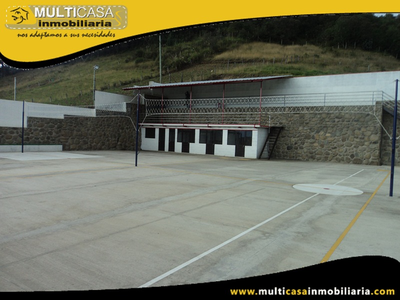 Venta de Complejo Deportivo a Crédito Sector San Joaquín Cuenca-Ecuador