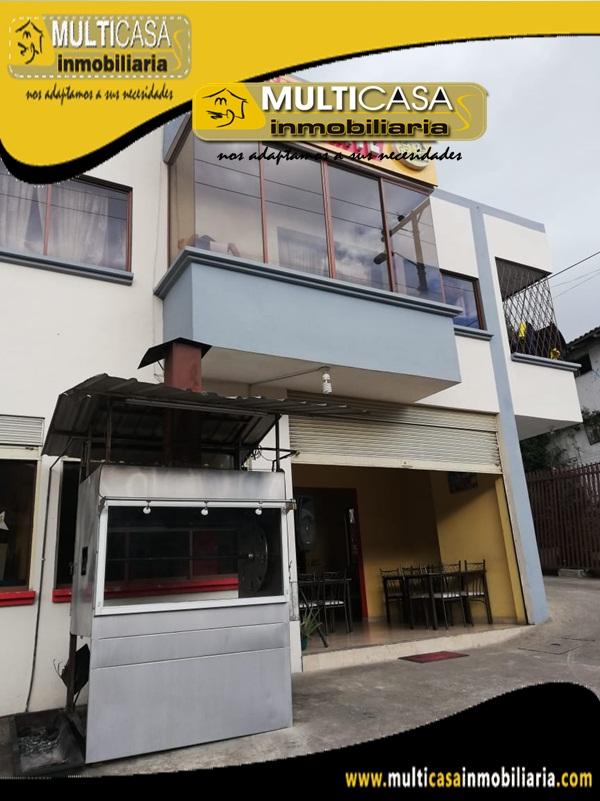 Restaurante en Venta Sector Chilcapamba Cuenca-Ecuador