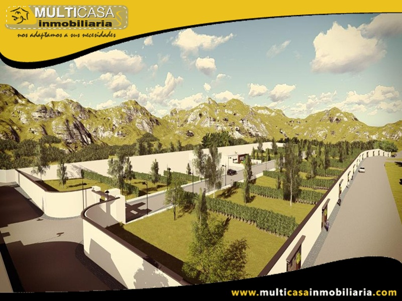 Venta de Terrenos en Selecta Urbanización Altos del Bosque Sector Rio Amarillo Cuenca-Ecuador