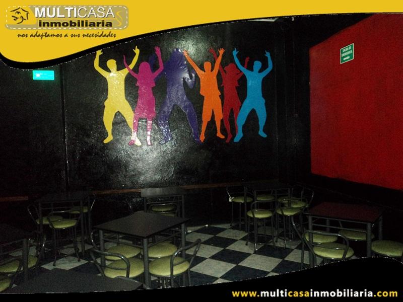 Bar - Discoteca en Venta Sector Baños Cuenca- Ecuador