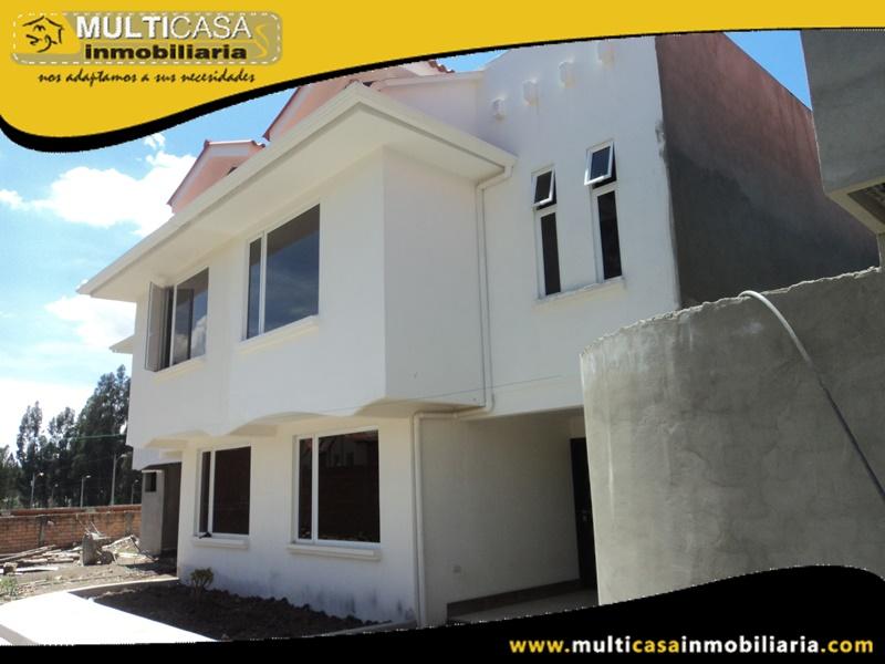 Casas en Venta a Crédito en Urbanización Privada Sector Ochoa Leon Cuenca-Ecuador