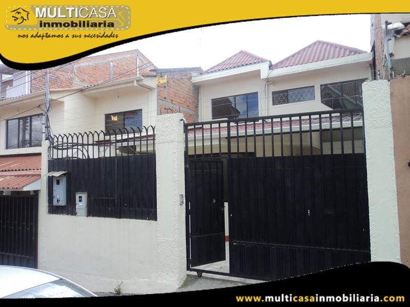 Casa en Venta a Crédito Sector Universidad Politecnica Salesiana Cuenca-Ecuador