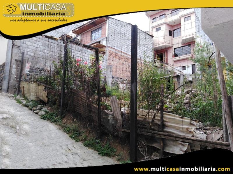 Terreno con Licencia Urbanística en Venta a Crédito Sector Totoracocha Cuenca-Ecuador