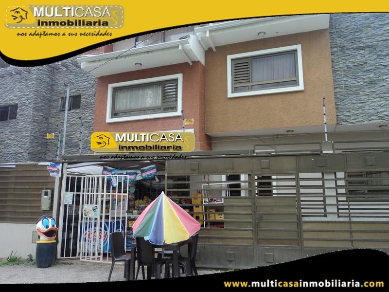 Casa Comercial en Venta a Crédito Sector Narancay Cuenca-Ecuador