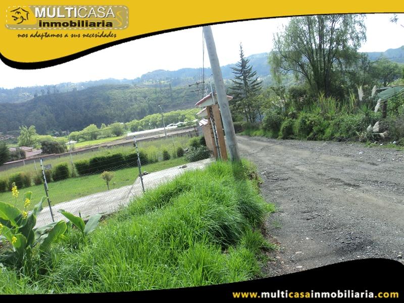 Terreno en Venta con dos frentes a Crédito Sector Zhullin Azogues-Ecuador